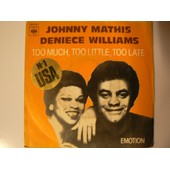Too Much,Too Little,Too Late - Johnny Mathis