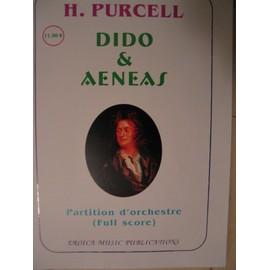 Dido & Aeneas - Partition d'orchestre