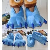 Chaussons Pantoufles Chaussures Kigurumi Pyjama Stitch Bleu Patte Griffe D�guisement Cosplay Adulte