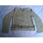 Cache-Coeur Captain Tortue, T38/40, Vert/Kaki,Tissu Genre Sweat