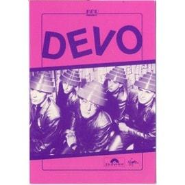 DEVO - Carte publicitaire Concert KCP de DEVO à Nice.