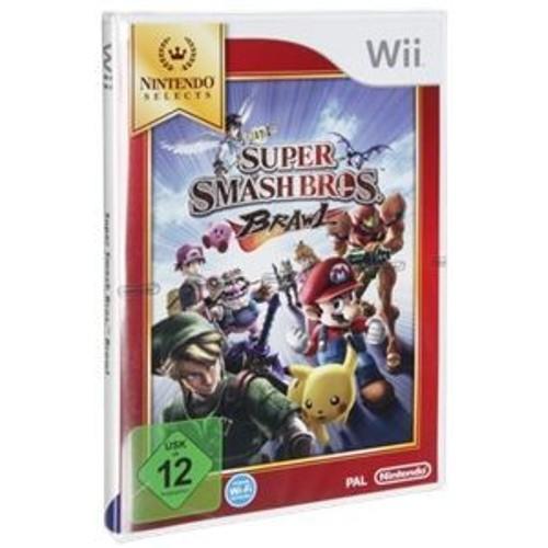 Uk Ltd Nintendo Super Smash Bros Brawl - Nintendo Selects [import allemand] Nintendo Wii