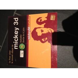 MICKEY 3D MATADOR PLV FNAC FORMAT 33 TOURS