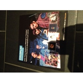 COLDPLAY PLV FNAC 2012 DISCOGRAPHIE A PRIX SPECIAL FORMAT 33 TOURS