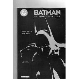 Batman Comic Box Edition Sp�ciale N� 7 : Batman Edition Collector Comic Box Tirage Limit� 1000 Exemplaire