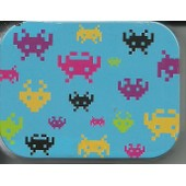 Boite Tampons Hygi�niques Tampax Space Invaders (Neuve)