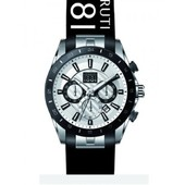 Mode Homme Montre Watch Cerruti Water Resist Bracelet Silicone Cra095e214g