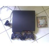 Ps3 120 Go + 2 Manettes + 1 Camera Playstation + Gta V