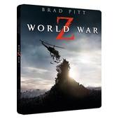World War Z - Combo Blu-Ray 3d + Blu-Ray + Dvd - Version Longue In�dite - �dition Bo�tier Steelbook de Marc Forster