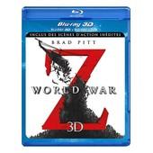 World War Z - Combo Blu-Ray 3d + Blu-Ray + Dvd - Version Longue In�dite de Marc Forster