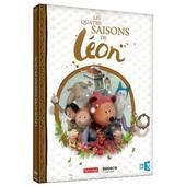 Les Quatre Saisons De L�on : Les Aventures M�di�vales De L�on, M�lie, Boniface Et Pougne ! de Pierre Luc Granjon