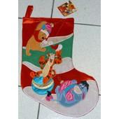 Chaussette De Noel Bourriquet Tigrou Winnie Disney Store