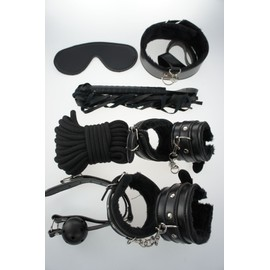 Kit Set Bondage Sm Bdsm Domination 8 Pi�ces - Sm - Bdsm - Sex Toys Sextoys Sextoy - Roleplay Xs010