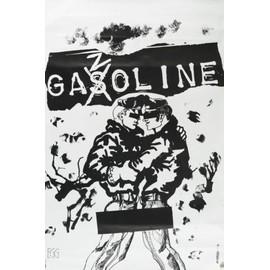 Affiche Originale GAZOLINE PUNK Français 1977 EGG Alain KAN