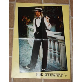 poster affiche magazine best 97 rod stewart 58x43