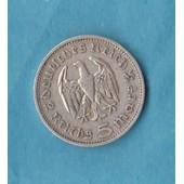 5 Mark Argent 1935 Etat Ttb