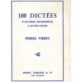 100 dictées pierre vibert