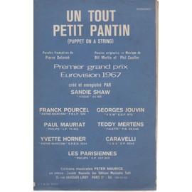 sandie shaw - puppet on a string (un tout petit pantin) / cat stevens - matthew and son ( il y a du bleu)