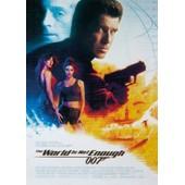 James Bond 007 Carte Postale - The World Is Not Enough (15x10 Cm)