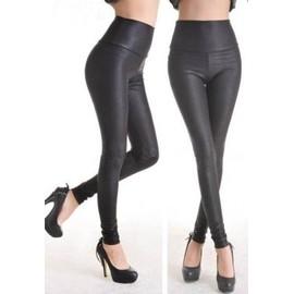 Legging Vinyl Imprim� Python Tregging Pantalon Sexy Moulant Skinny Mat Cuir Leggings Sexy