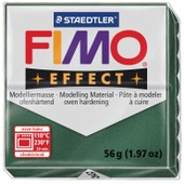 P�te Fimo 56 G Effect M�tallique - Vert Opale - 8020.58 - Fimo