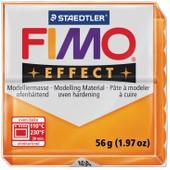 P�te Fimo 56 G Effect Translucide - Orange - 8020.404 - Fimo