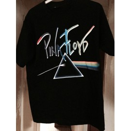 "PINK FLOYD / T-Shirt ""Dark Side of the Moon"" recto Verso taille M"
