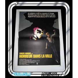 Affiche / Poster - Chuck Norris - SILENT RAGE (HORREUR DANS LA VILLE)
