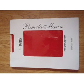 Collants Rouge Pamela Mann