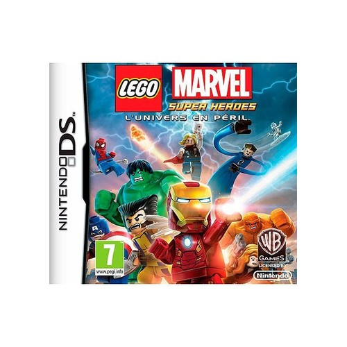 Lego Marvel Super Heroes DS