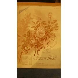Rose-Mousse - Valse Lente pour Piano