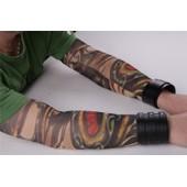 Paire De Manches Tatouage Tattoo Sleeve Collants Bras Jambe Monstre Serpent Squelette Ouroboros Temporaire Unisexe D�guisement Cosplay Original Tendance Artiste Black Sugar Boutique D�part Paris