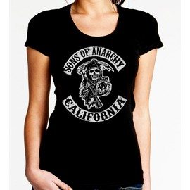 T-Shirt Sons Of Anarchy - Femme