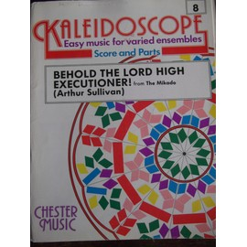 kaleidoscope n°8 Behold the lord high executioner! from Mikado