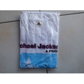 T-shirt michael jackson & friends - collector