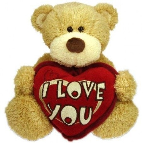 Amour Grande Peluche Ours I love you 45 cm