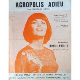 acropolis adieu mireille mathieu 1971 piano chant