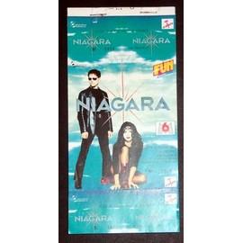 NIAGARA Carnet 50 ticket Paris 25 mars 1993 NON UTILISES