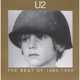 U2 THE BEST OF 1980/1990 TRES BELLE PLAQUETTES CARTONNEE FORMAT 22X22