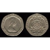 Piece 20 Pence 1982