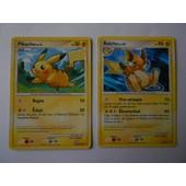 Pikachu 120/147 Et Raichu 77/147- Vainqueurs Supr�mes