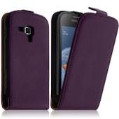 Housse Coque Etui Pour Samsung Galaxy Trend S7560 Couleur Violet