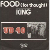 Food For Thought B/W King - Ub40