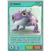 Carte Panini Invizimals Defis Caches Axolotl N� 199