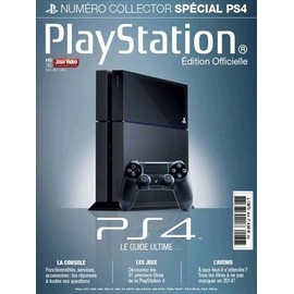 Jeux Vid�o Magazine Hors-S�rie 36 - Num�ro Collector Playstation 4 Ps4 Le Guide Ultime