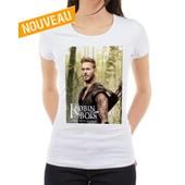 T-Shirt M Pokora - Robin Des Bois - Tee Shirt Femme /Vert/