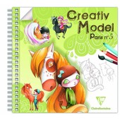 Carnet De Coloriage Cr�ativ� Model Paris N� 5 de claire fontaine