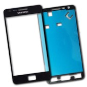 Ecran Vitre Noir Samsung Galaxy S2 I9100