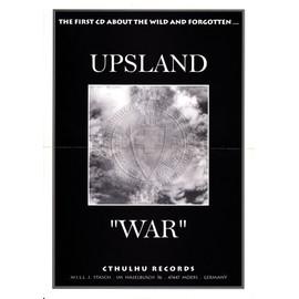 UPSLAND - WAR - AFFICHE 20,5 x 29 CM