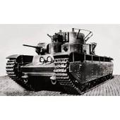 Maquette Char : T-35